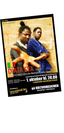 Poster Design for Diata Sya (Mali) during the Womex Around tour at Internationalt Hus, Odense